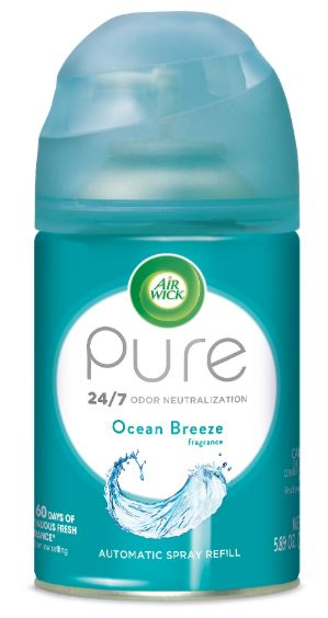 Air Wick Automatic Spray - Pure Ocean Breeze 5.89 oz